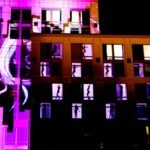 Hard Rock Hotel Exterior Building Projection Mapping