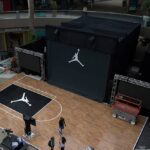 Nike Air Jordan Activation Holographic Entrance Area and Activation