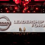 Nissan Conference Widescreen Close up of Presenters