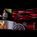 Nissan Conference Widescreen Medium Shot Delay Screen