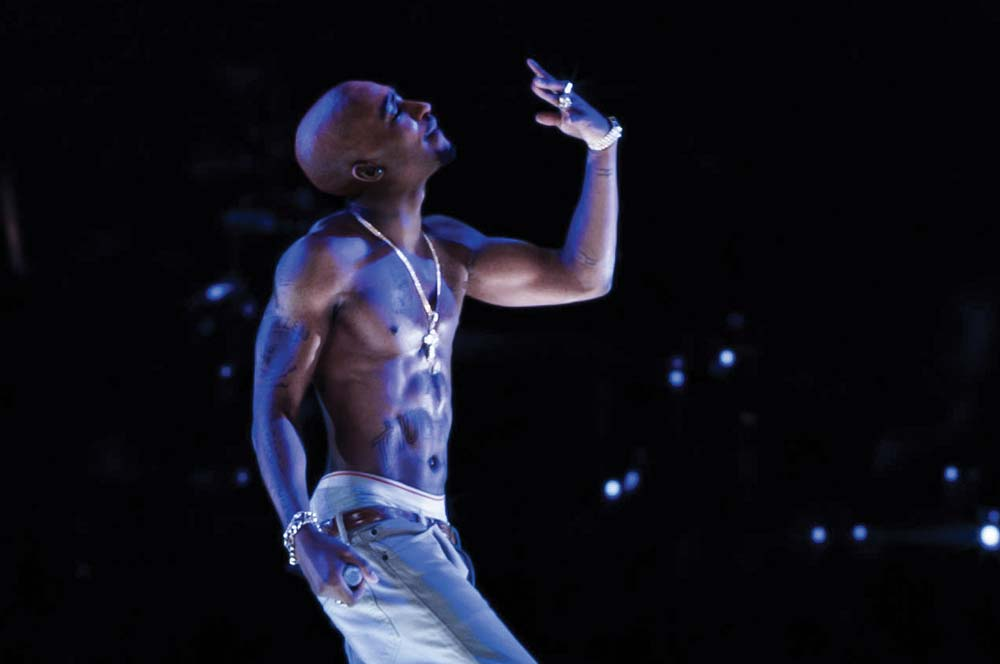 Tupac Shakur Holographic Performance