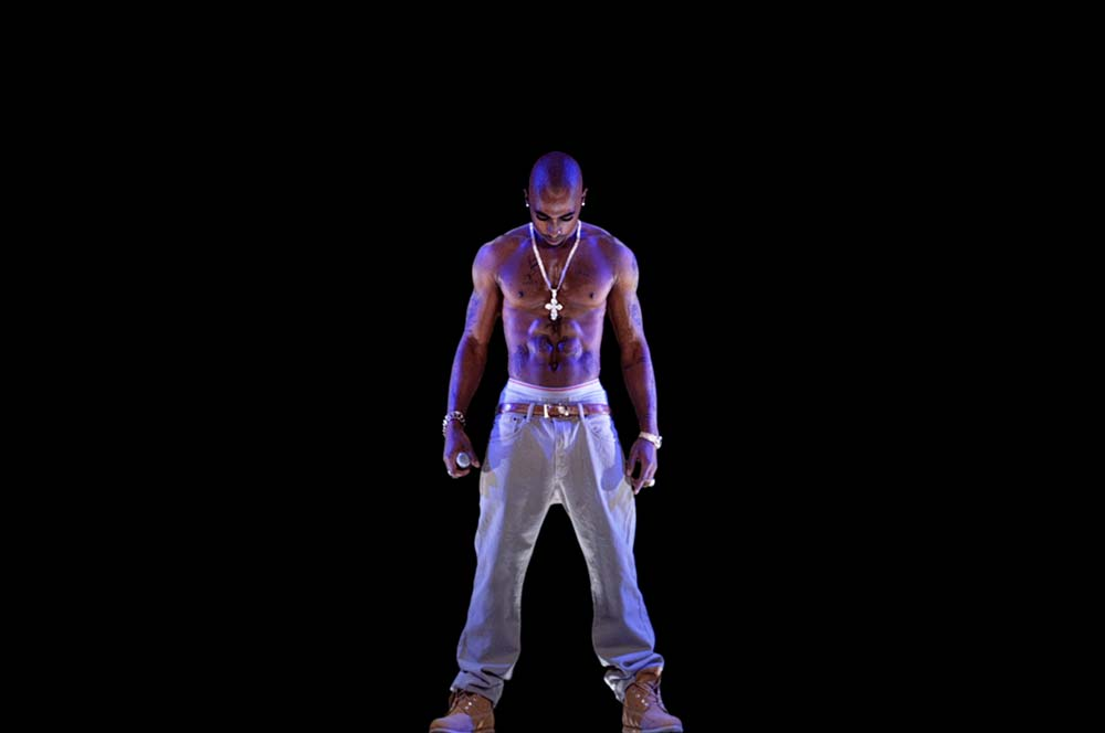 Tupac Shakur Holographic Performance - AV Concepts