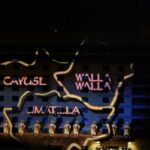 Wildhorse Projection Mapping on Exterior of Building Tribe