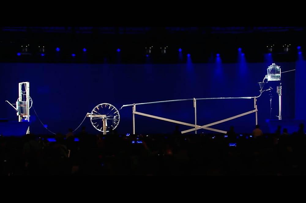 Google I/O Rube Goldberg Activation