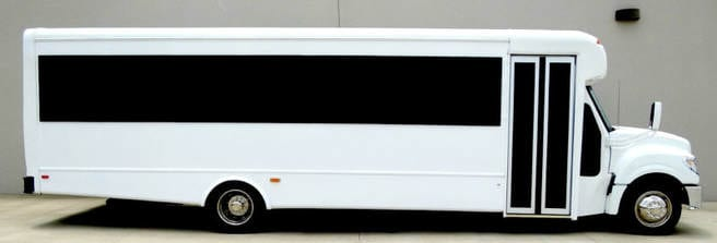 Red Star Luxury Transportation Party Bus Limo