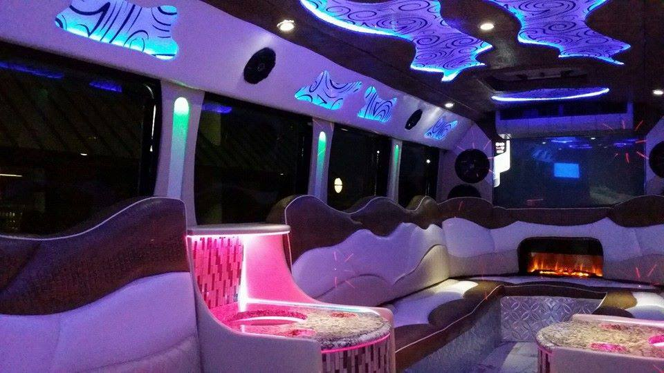 Red Star Luxury Transportation -Party Bus, Limo Bus