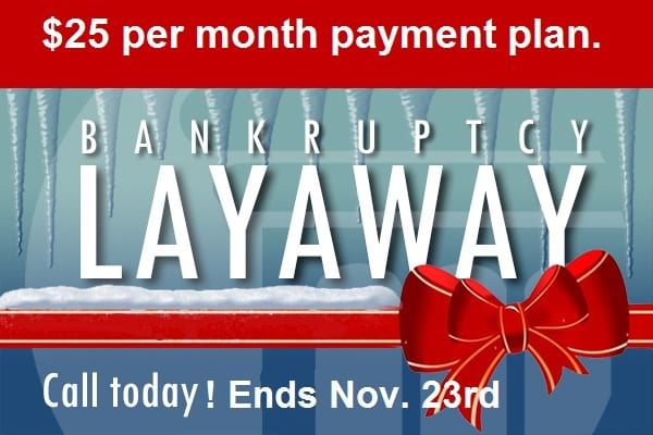 Bankruptcy Payment Plan cheap cost
