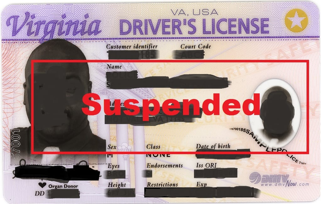 Bankruptcy & Suspended Driver's license - Virginia, Richmond, Newport News