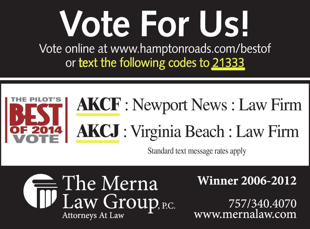 Best Law Firm Richmond, Virginia Beach, Newport News