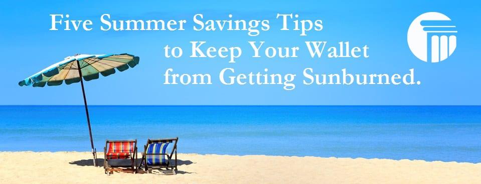 Bankruptcy Summer Savings Tips - Virginia Beach, Chesapeake, Norfolk, Portsmouth, Suffolk