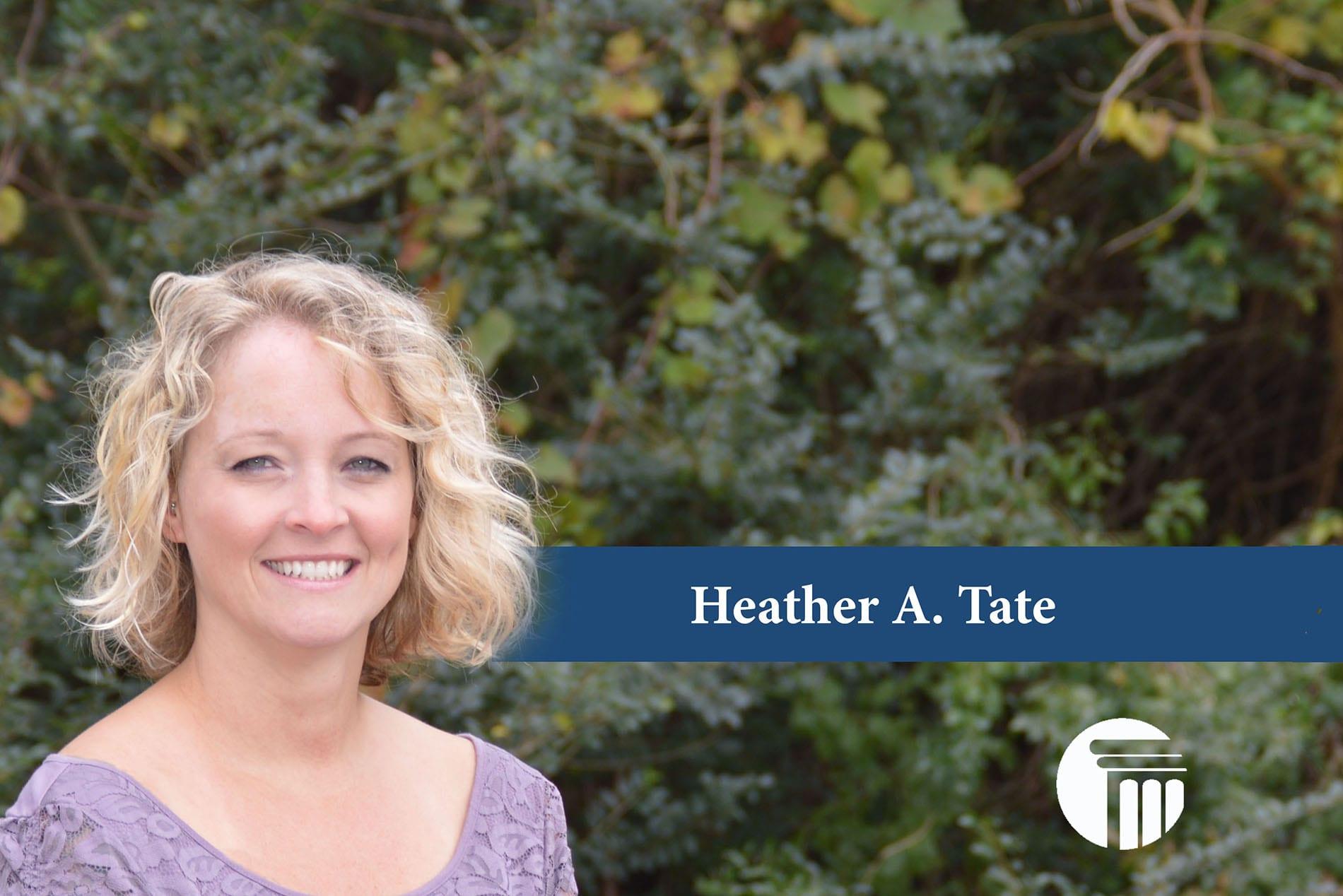 Heather A. Tate - Chapter 7 Paralegal - Virginia Beach, Chesapeake, Portsmouth,Henrico, Newport News, Hampton