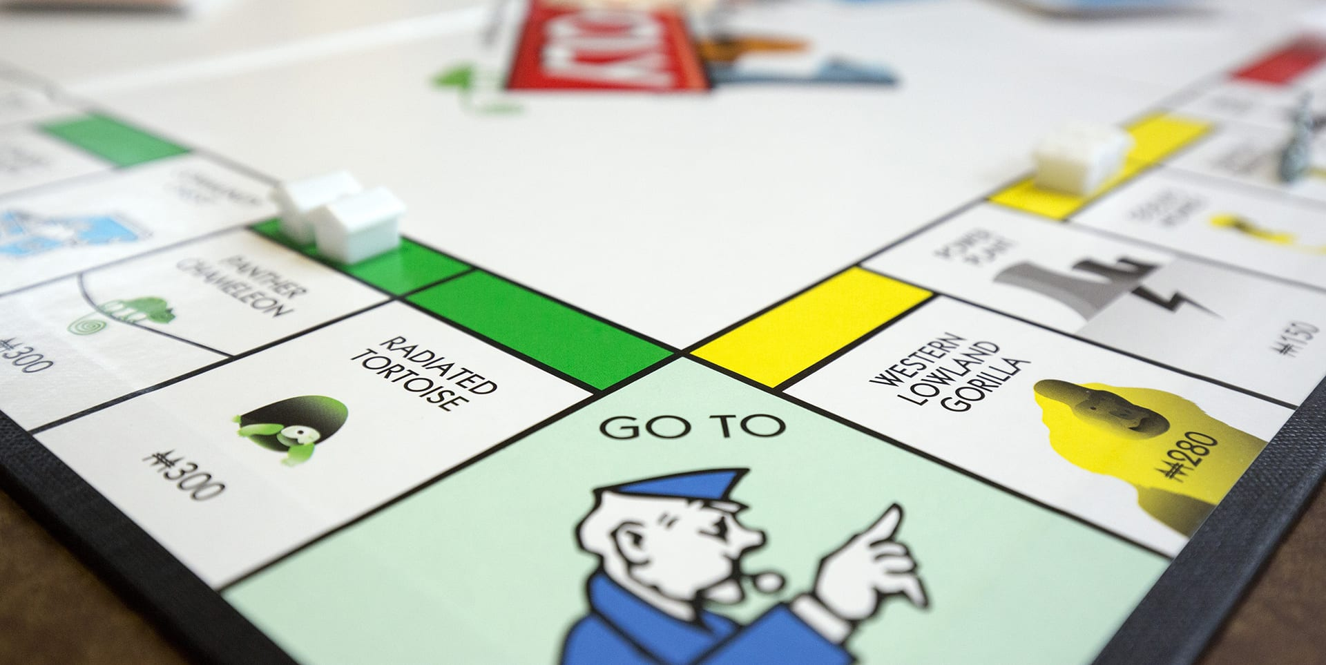 Monopoly board - Virginia Beach, Newport News, Richmond bankruptcy