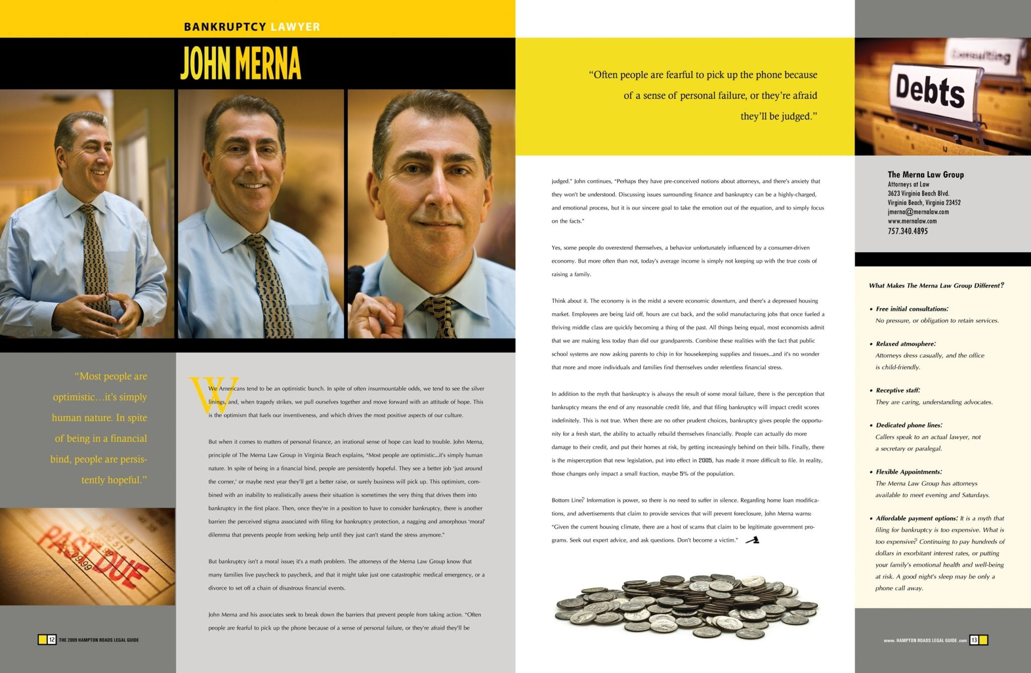 Bankruptcy Attorney John G. Merna Talks About Recovery