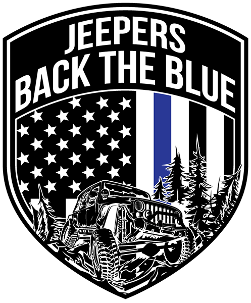 Jeepers Back the Blue