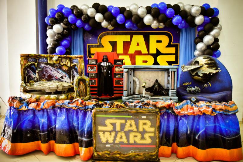 Festa Infantil Star Wars (Pedro 4 anos)