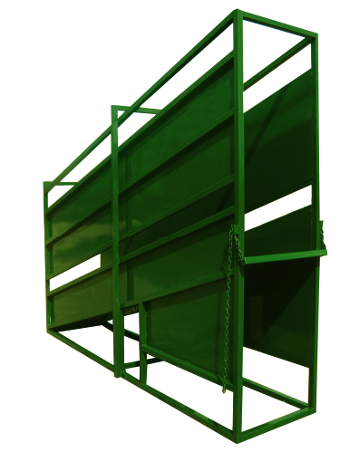 Cattle Chute Texas, for the 12′ STATIONARY CATTLE LOADING CHUTE