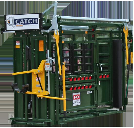 Cattle Chute Texas, Arrowquip Q-CATCH 8500V CATTLE SQUEEZE CHUTE