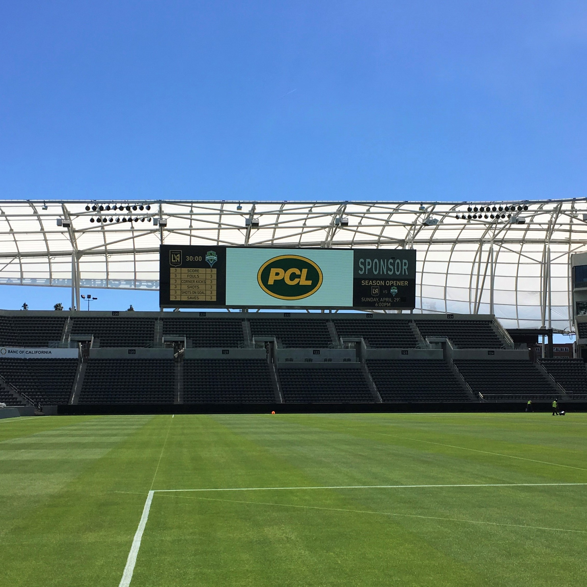 LAFC LED Display