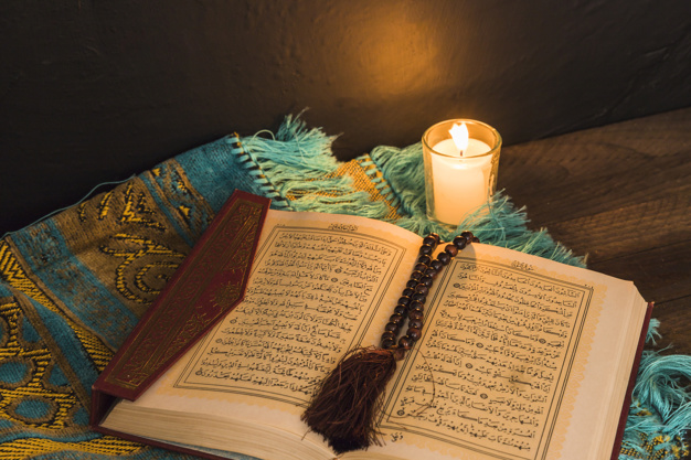 quran-with-candle