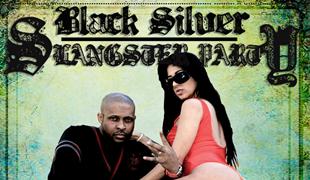 Black Silver Slangster Party