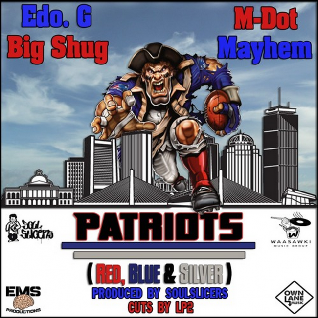 """Mayhem (EMS) """"Patriots"""" feat. Edo G, M-Dot, & Big Shug"""