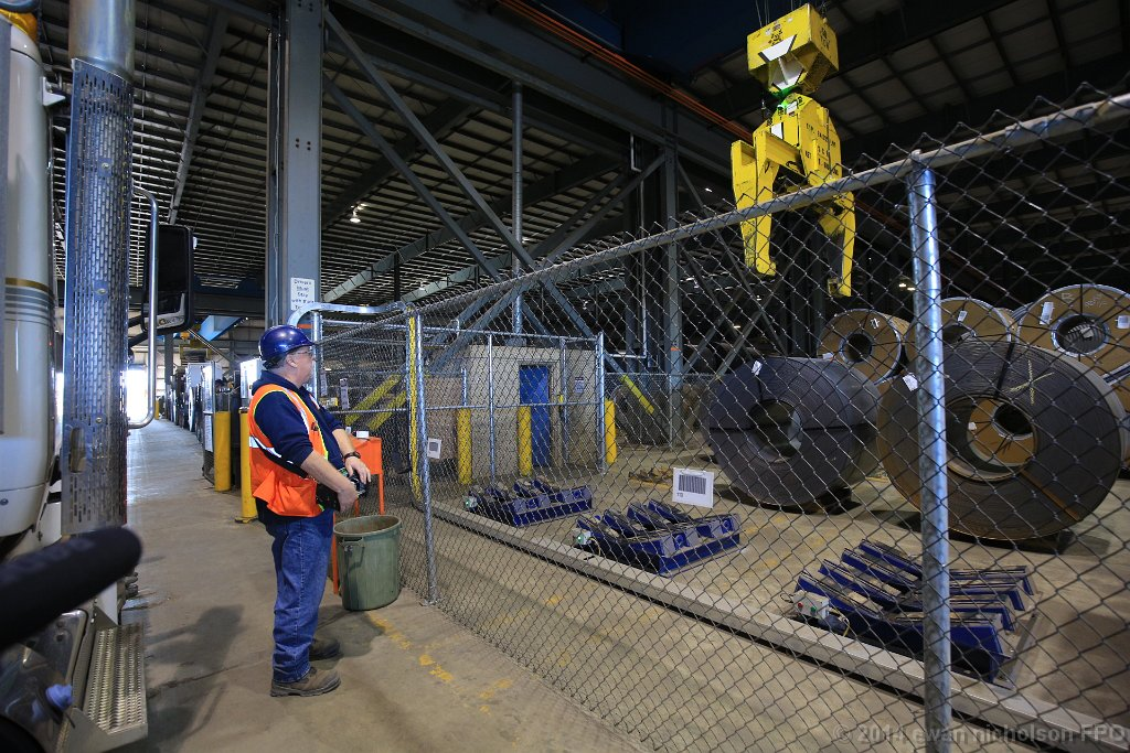 The first automated rail-based transload facility in Canada