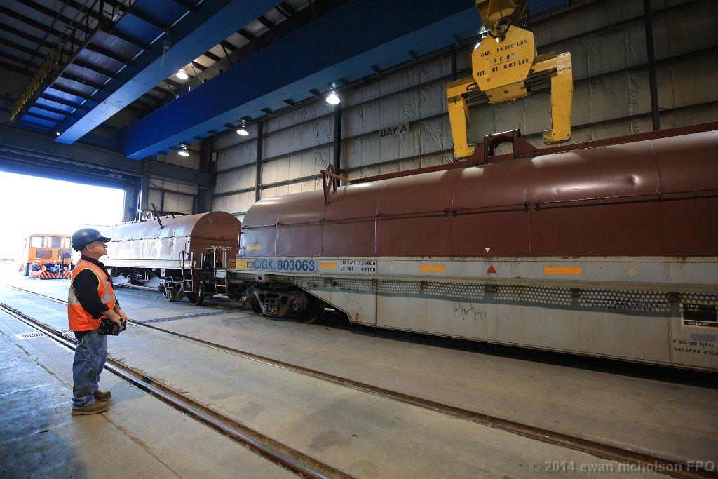The fastest steel transload facility in Canada