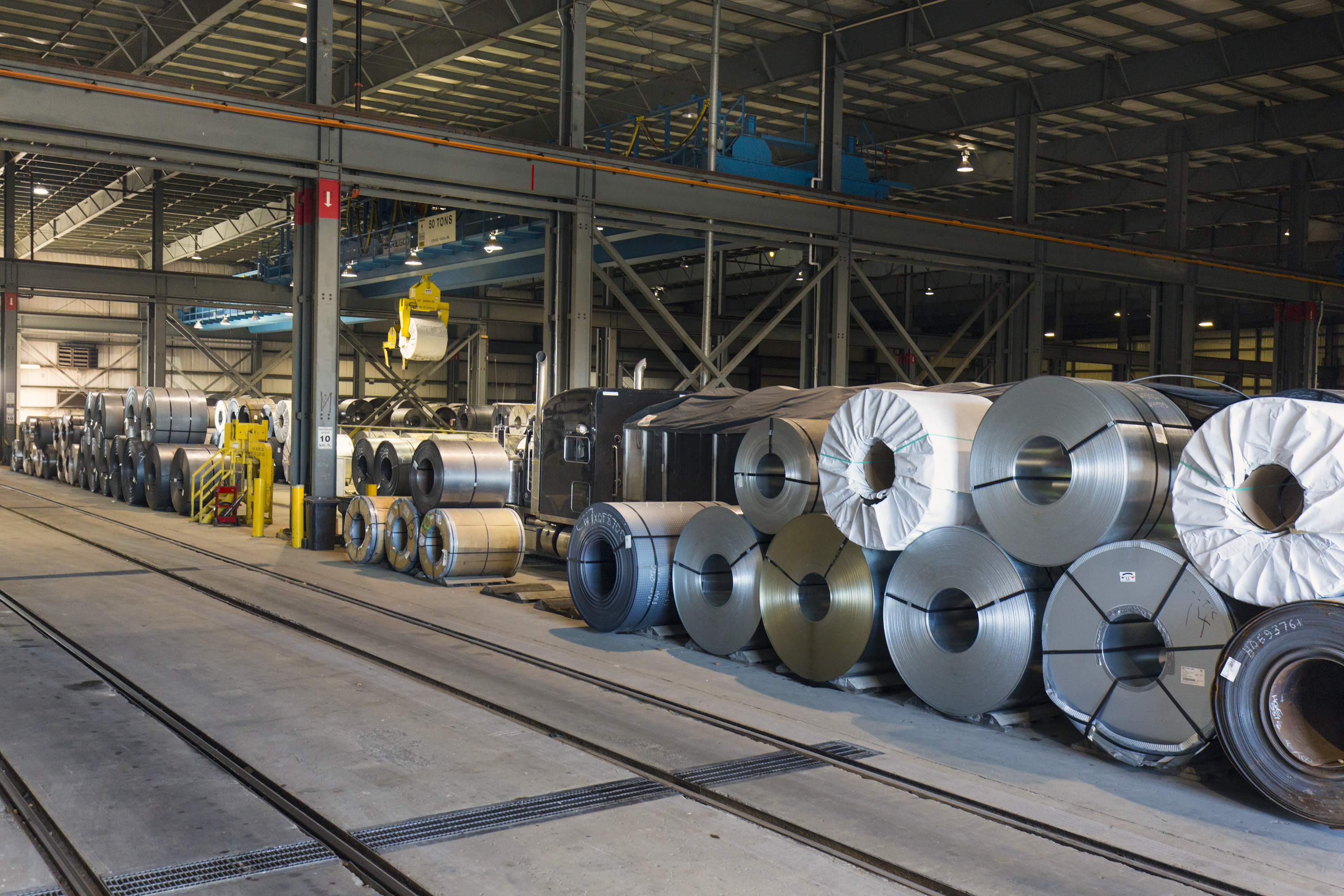 Canada's First Automation Hub For Steel Distribution