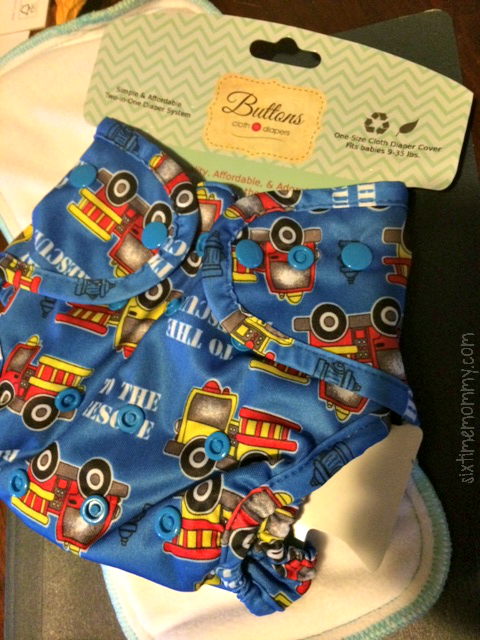Buttons Cloth Diapers Review