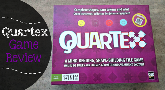 QUARTEX GAME REVIEW: A new, fun and engaging game for kids 8+ - Mind Bending and Shape Building. - sixtimemommy.com