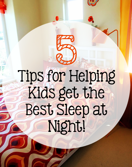 5 Tips for Helping Kids get the Best Sleep at Night: Kids need sleep. There's no question about it, but sometimes it can be a struggle! It doesn't have to be anymore... - sixtimemommy.com