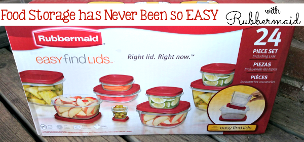 Food Storage has NEVER Been So Easy: Rubbermaid Easy Find Lids! - sixtimemommy.com