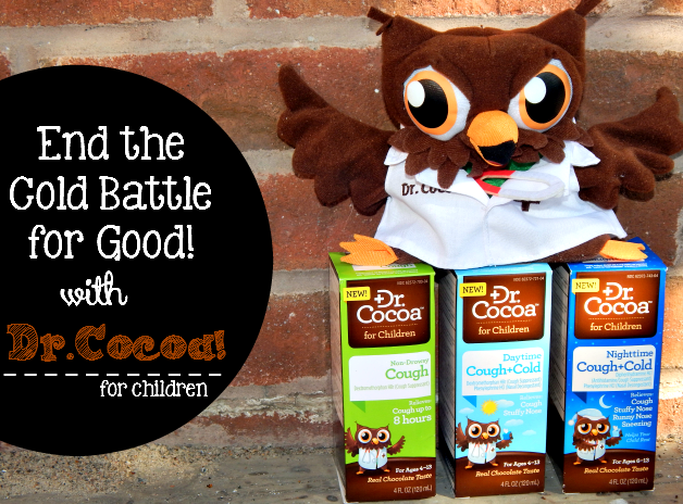 Get relief with Dr.Cocoa!