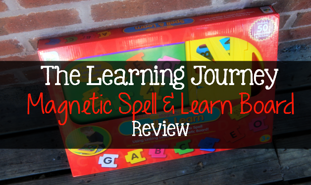 The Learning Journey Magnetic Spell & Learn Board Review