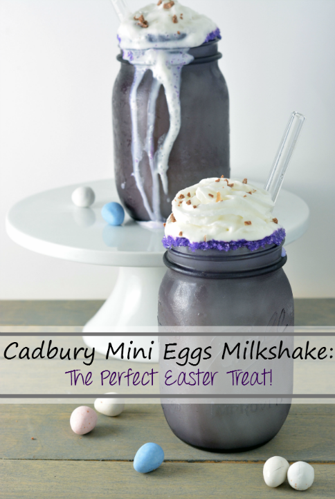Cadbury Mini Eggs Milkshake: The perfect, delicious and cool Easter Treat! - sixtimemommy.com