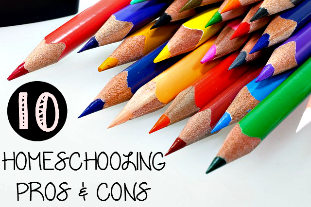 10 Homeschooling Pros & Cons to consider when thinking about Homeschooling! - sixtimemommy.com