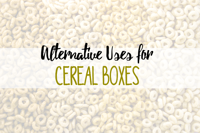 Alternative Uses for Cereal Boxes