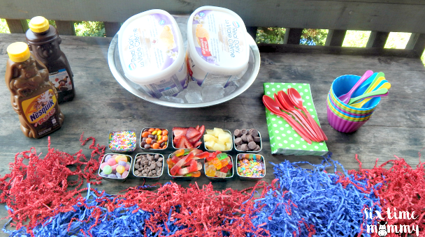 Celebrate Summer's Arrival With a Family Ice Cream Bar!
