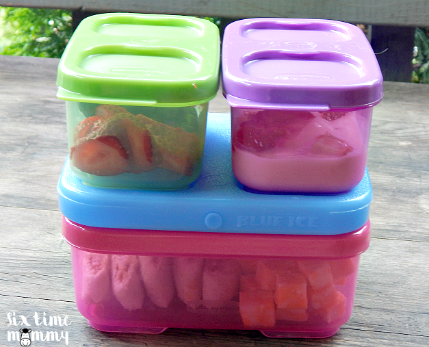Easy Kid Friendly Lunches With Rubbermaid Lunchblox® Kids