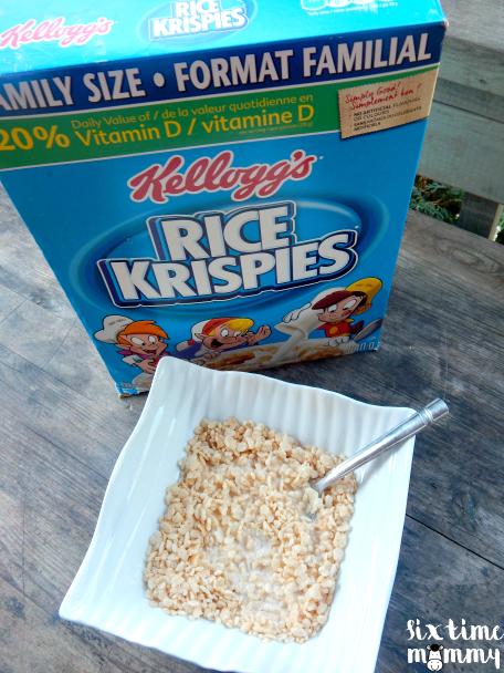 End the Morning Grumpies with Rice Krispies + GIVEAWAY! #MomsJustKnow