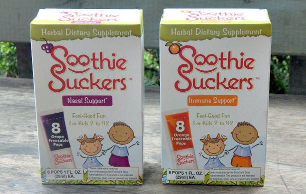 Soothie Suckers: Herbal Ice Pops for Kids & Adults 2-92!