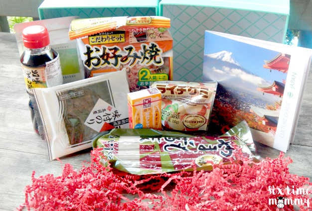 Try The World Box July 2015 – Japan