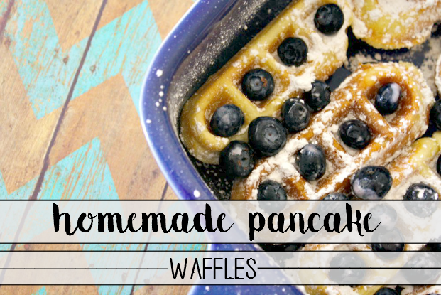Homemade Pancake Waffles - delicious, easy and kids just love 'em! - sixtimemommy.com