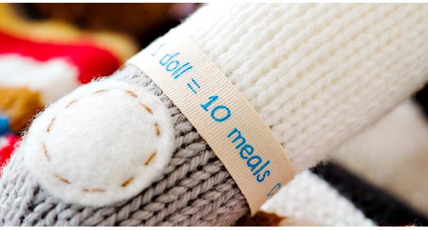Cuddle+Kind Hand-Knit Dolls That Help Feed Children