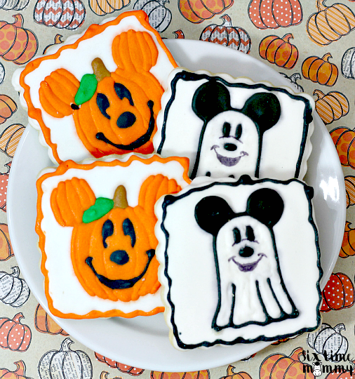 Homemade Spooktacular Mickey Mouse Halloween Cookies