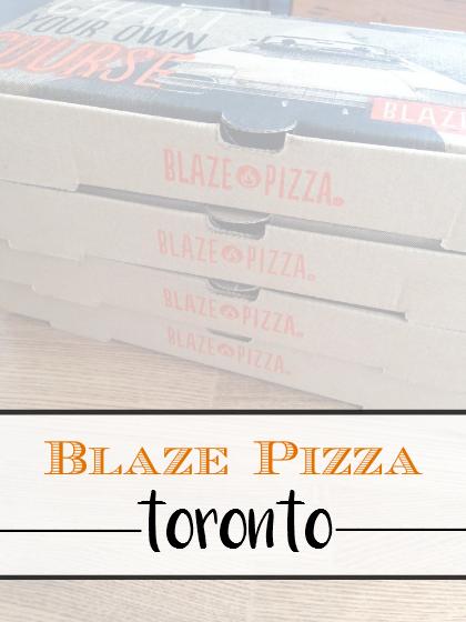 Blaze Pizza Toronto - sixtimemommy.com