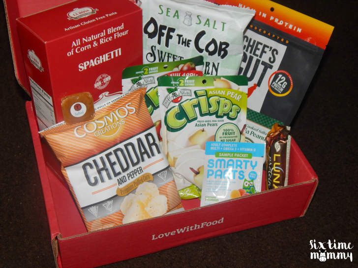 Love With Food — Junk-Free Snacks Subscription Box + GIVEAWAY!