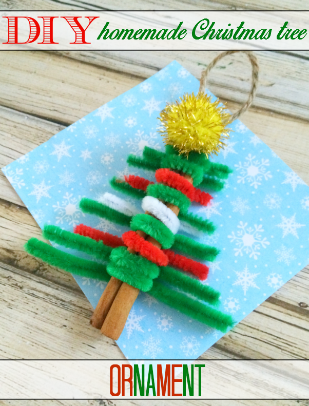 DIY Homemade Christmas Tree Ornament