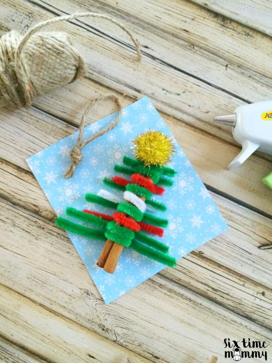 DIY Homemade Christmas Tree Ornament - sixtimemommy.com