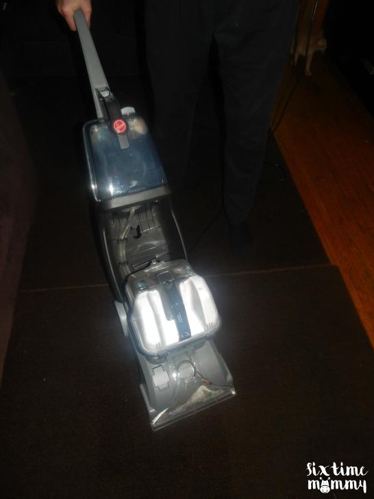 Hoover® Turbo Scrub Carpet Cleaner #CleanTeam
